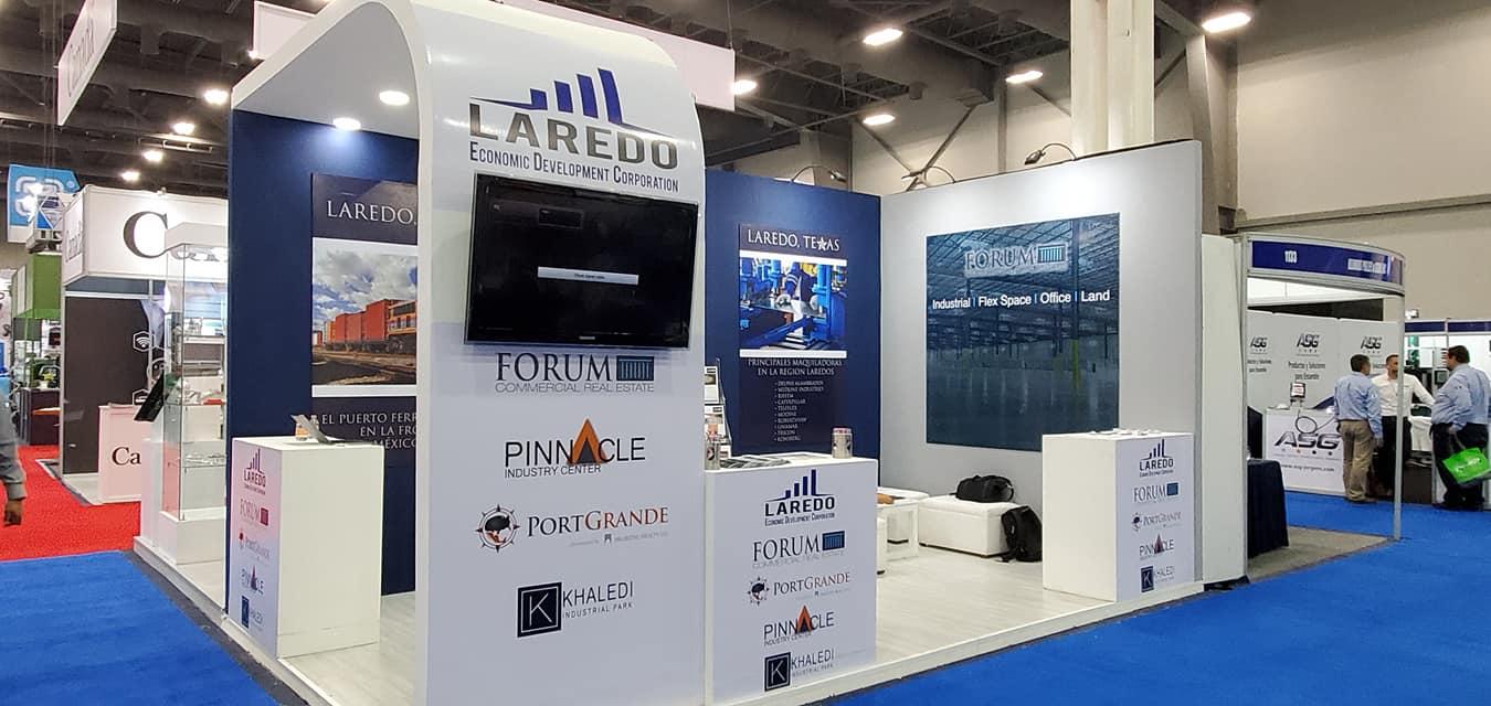 Laredo EDC at ExpoManufactura 2020 in Monterrey, Mexico
