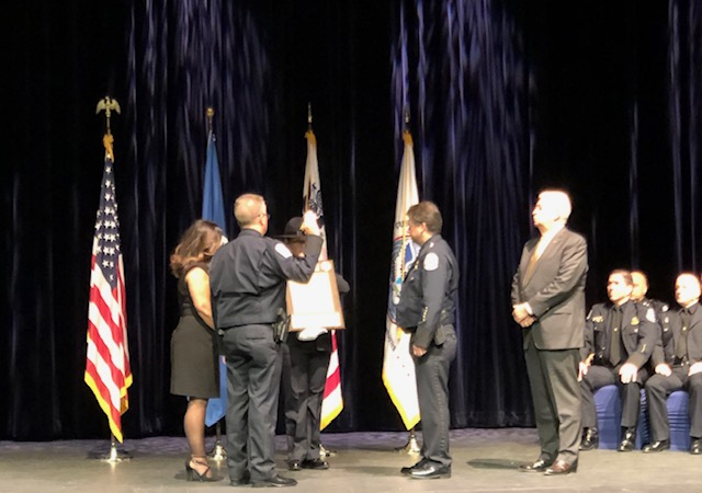 Change of Command Ceremony for Director of Laredo Field Operations Randy J. Howe