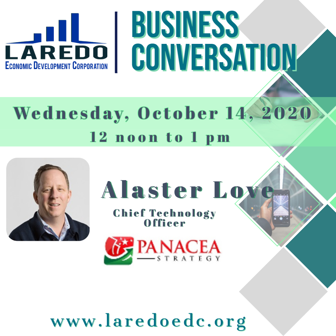 LEDC Business Conversation Meeting with Alaster Love