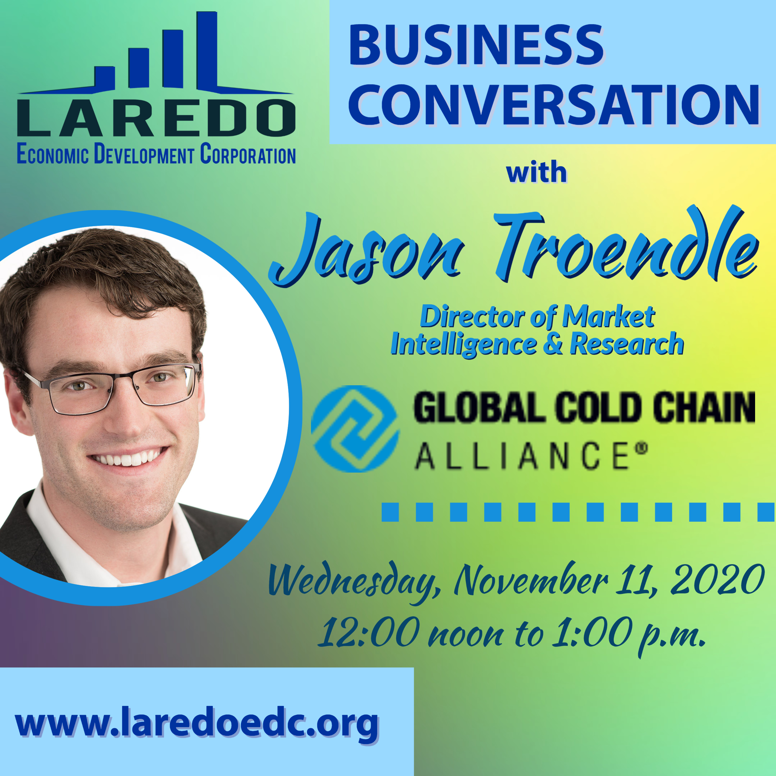 LEDC Business Conversation Meeting with Jason Troendle