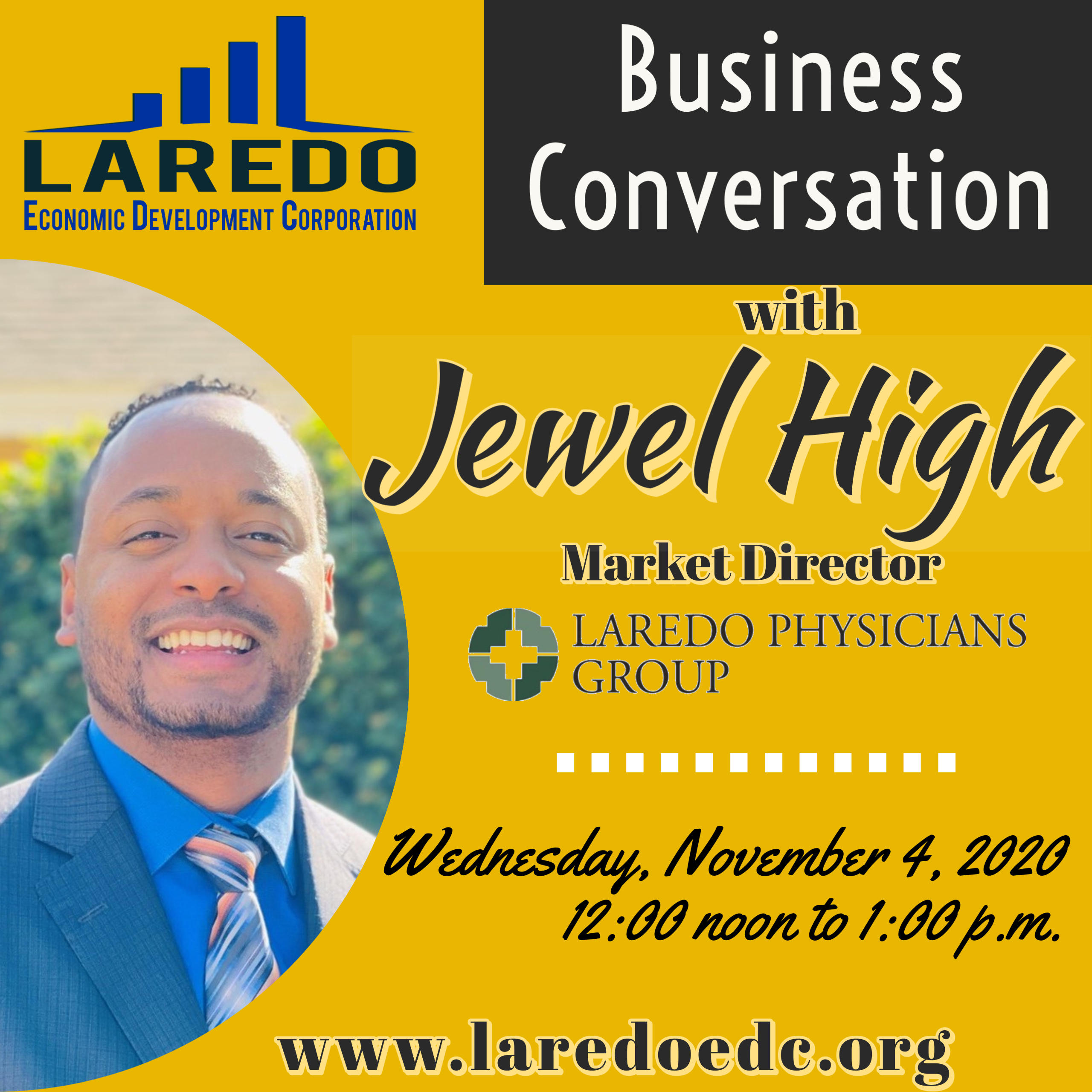 LEDC Business Conversation Meeting with Jewel High