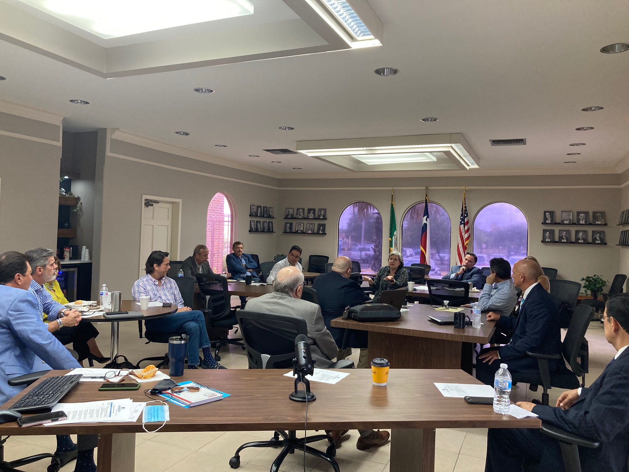 Laredo EDC hosted the Binational Meeting Region Laredos