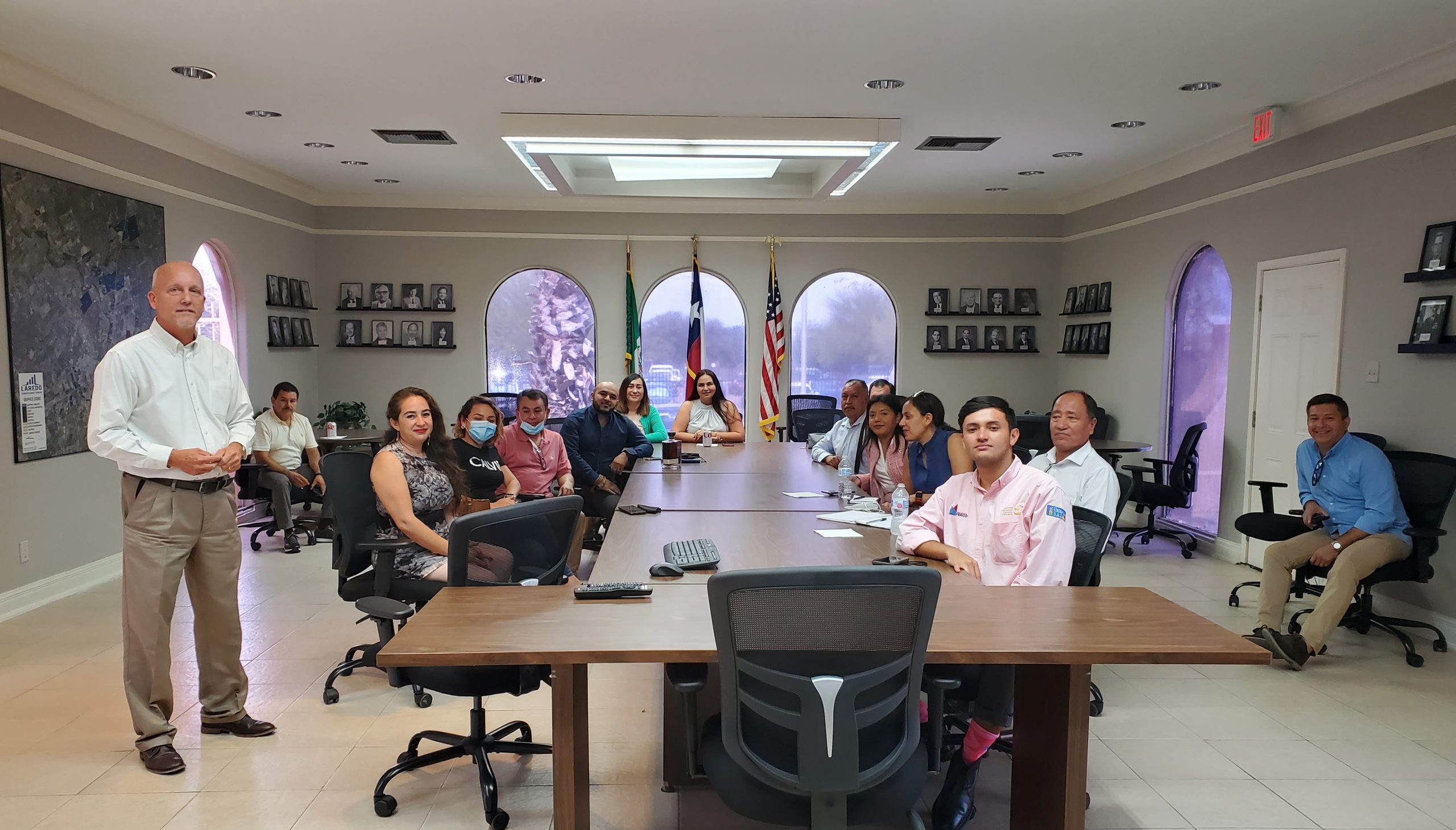 Commercial and Business Development Mission in Laredo Texas between US and Mexico
